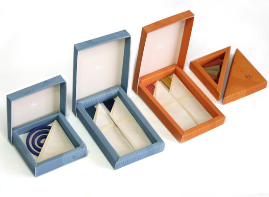 FOUR SEASONS | japanese incense kit | individual boxes