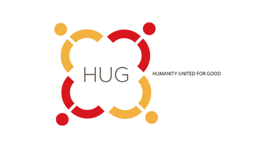 logo for HUMANITY UNITED FOR GOOD organization