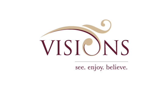 logo for VISIONS home builder