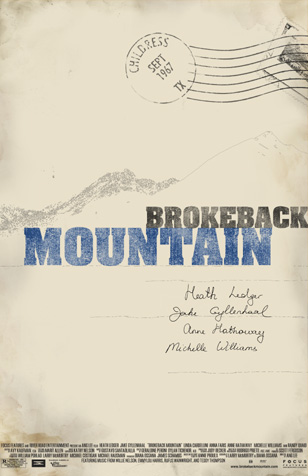 BROKEBACK MOUNTAIN | movie poster